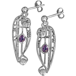 "Mackintosh earrings ""Catherine"""