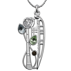 The Charles Rennie Mackintosh Pendant Collection