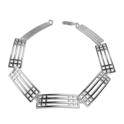 "Mackintosh bracelet ""Lattice"""