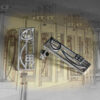 "Charles Rennie Mackintosh Earrings ""Cranston"". Sterling Silver. Tarnish Resistant. Cairn 523"