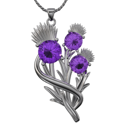 The Scottish Thistle Pendant Collection