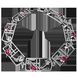 "Mackintosh bracelet ""Valentine"""