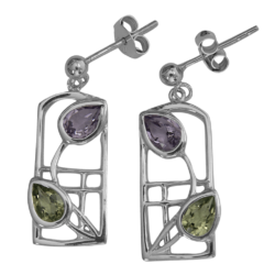 "Mackintosh earrings ""Dern"""