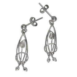 "Mackintosh earrings ""Flourish"""