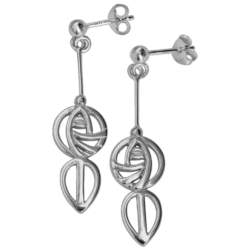 "Mackintosh earrings ""Art School"""