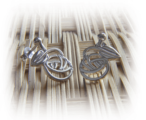 "Cairn Charles Rennie Mackintosh ""Nouveau"" Earrings 793"