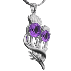 "Thistle pendant ""Appin"""