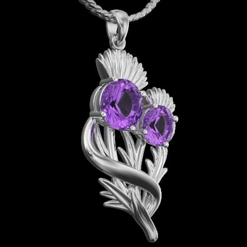 "Thistle pendant ""Appin"""