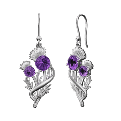 """Thistle earrings """"Appin"""""""