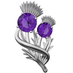 "Thistle brooch ""Appin"""