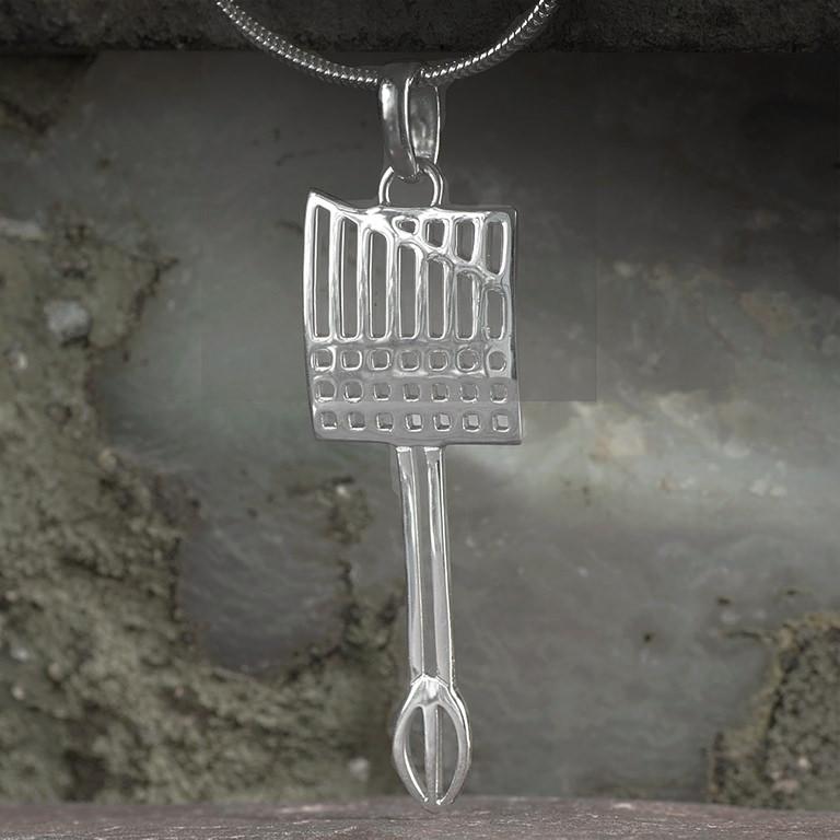 Ortak Charles Rennie Mackintosh Pendant Sterling Silver DWO981 P981