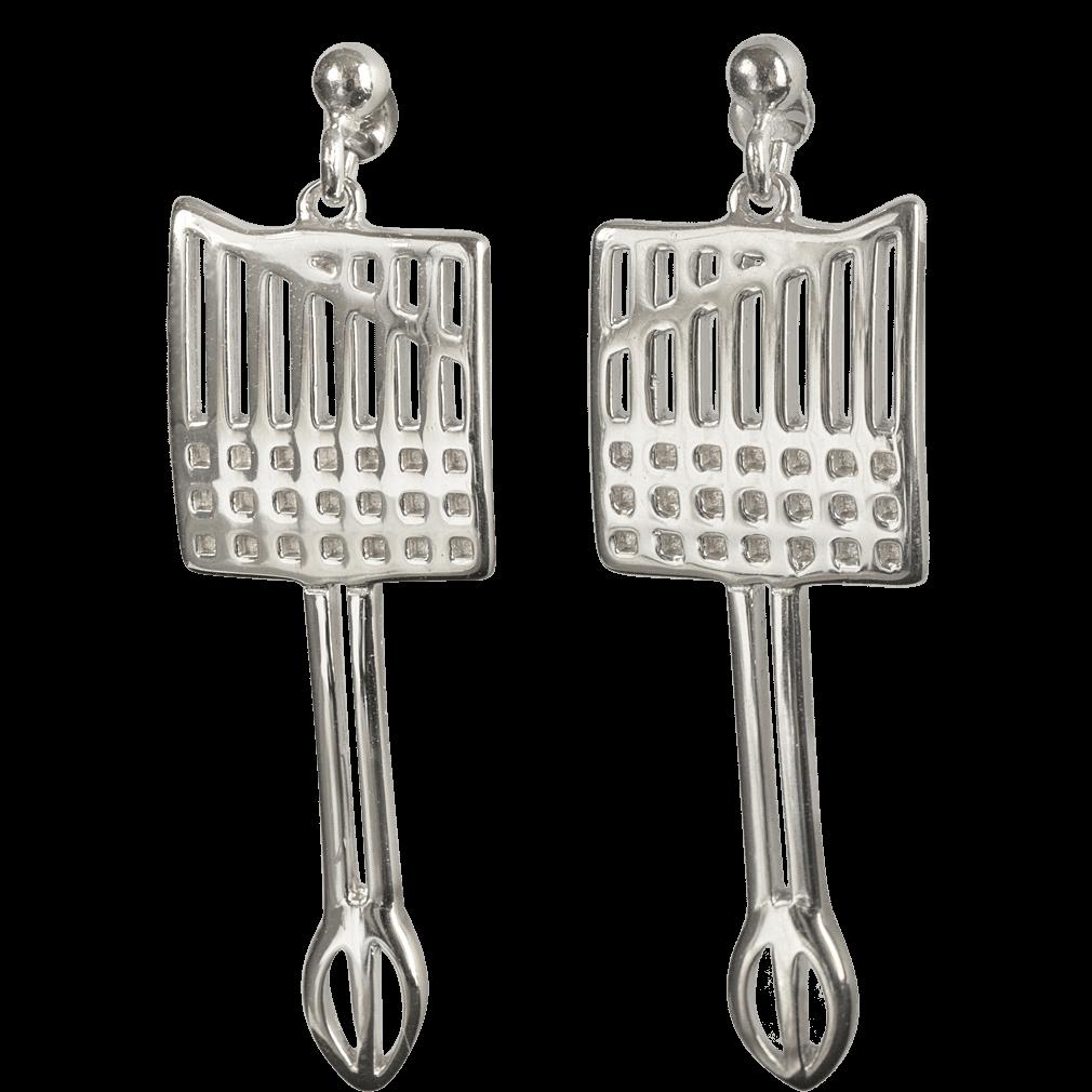 Ortak Mackintosh Earrings Sterling Silver DWO982 E1640