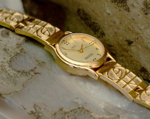M47GLG4 Charles Rennie Mackintosh Gold Plated Ladies Watch Cairn