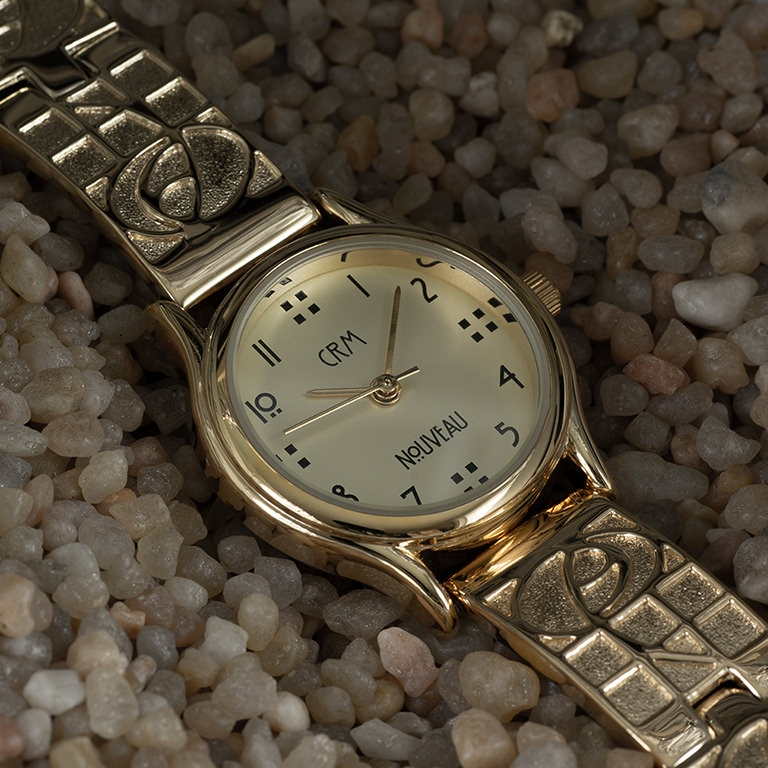 Charles Rennie Mackintosh Gold Plated Ladies Watch Cairn M47GLG4