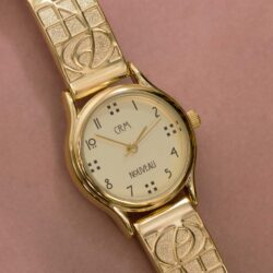 M47GLG4 Charles Rennie Mackintosh Gold Plated Ladies Watch Cairn