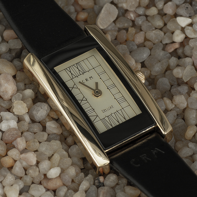 Charles Rennie Mackintosh Gold Plated Ladies Cocktail Watch Cairn M63AGG