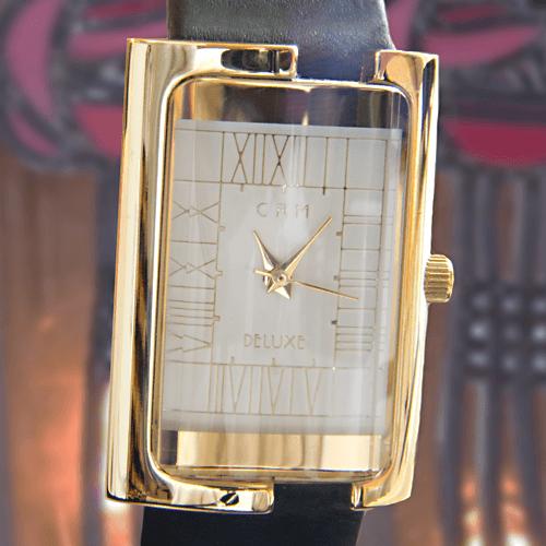 M63C78GW Charles Rennie Mackintosh Gold Plated Ladies Cocktail Watch Cairn