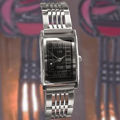 M63RBCZ Charles Rennie Mackintosh Art Nouveau Mans Bracelet Watch Cairn