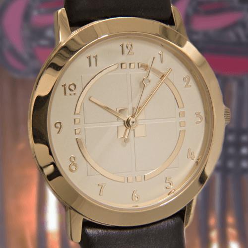 M71GG Charles Rennie Mackintosh Gold Plated Man's Watch Cairn