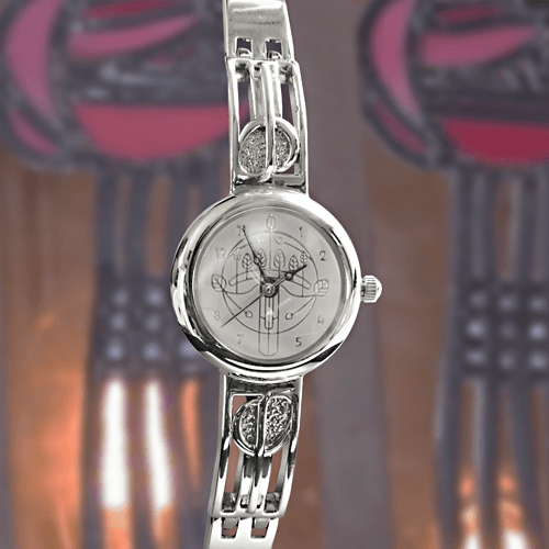 M92C Charles Rennie Mackintosh Ladies Half Bangle Watch Cairn