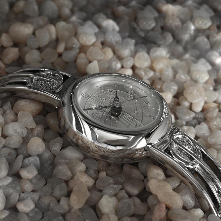 Charles Rennie Mackintosh Ladies Half Bangle Watch Cairn M92C