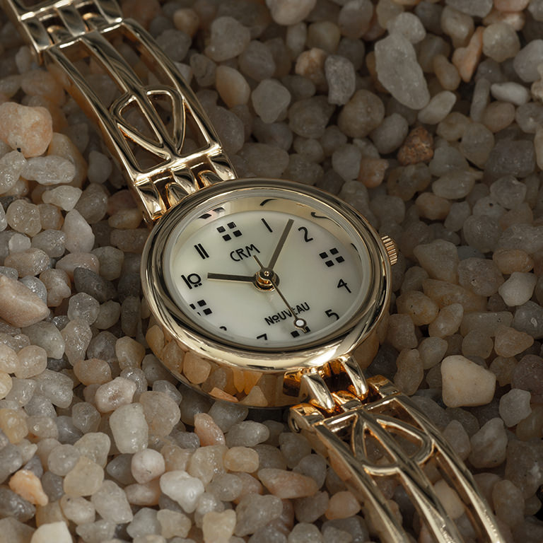 Charles Rennie Mackintosh Gold Plated Ladies Cocktail Watch Cairn M95MG